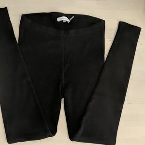 Calvin Klein Ribbed High Waisted Leggings